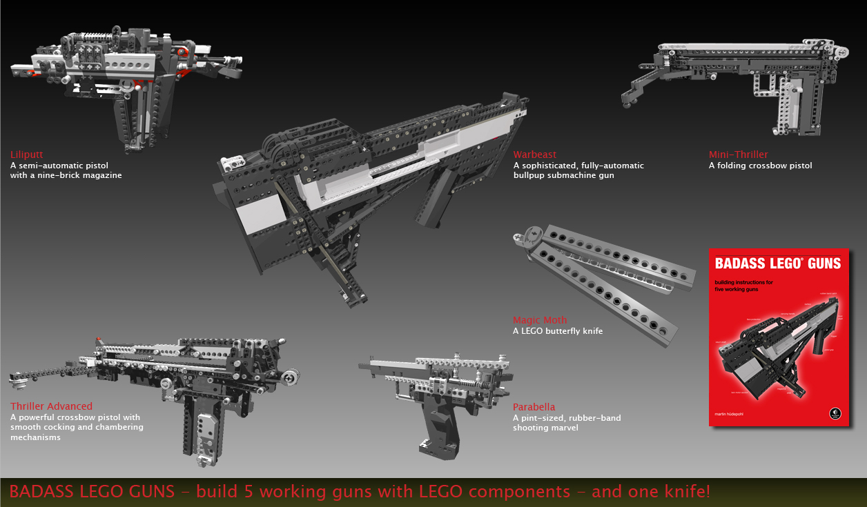Xubor Badass Lego Guns